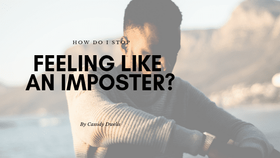 How do I stop feeling like an imposter when I write?