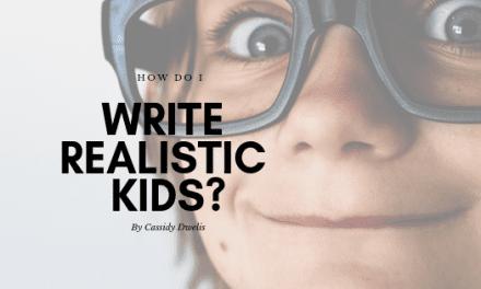 How do I write realistic kids?