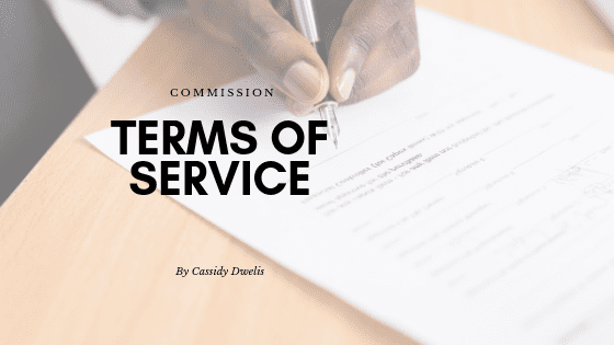Commissions Terms of Service